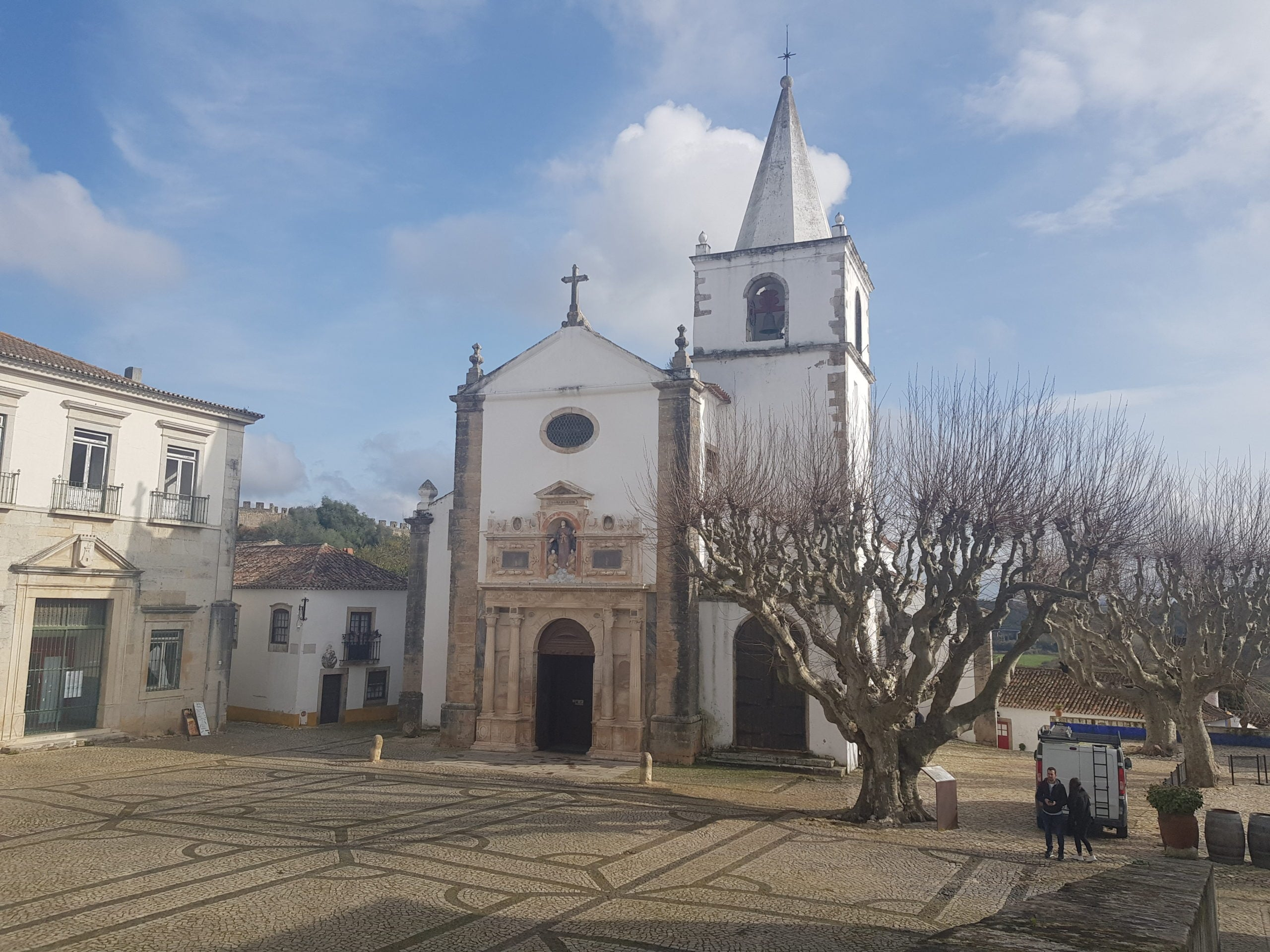 Top motive sa vizitezi Obidos in Portugalia Biseriva Santa Maria