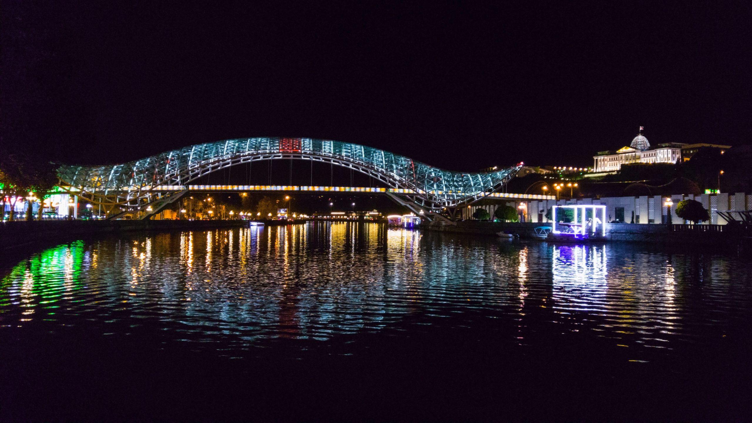 Bridge of Peace, Tblisi